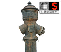 water hydrant 3d model