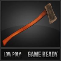 3d axe polys