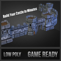 medieval castle pack 3ds