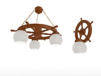 3d chandeliers sconces model