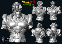 3ds max android 16 dragon ball