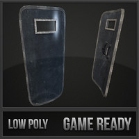 3ds max riot shield