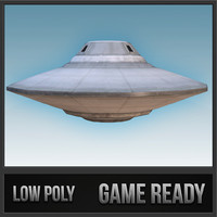 3d model of flying saucer - sport