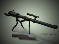 m18 recoilless rifle 3d max