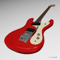 3ds guitar ventures mosrite
