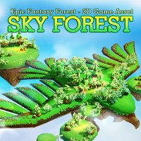 Fantasy Sky Forest