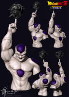 3d model frieza dragon ball z