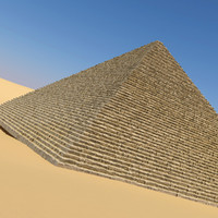 realistic egyptian pyramid 3d 3ds