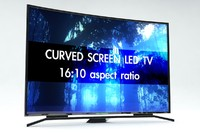 curved screen televisions 3d 3ds