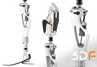 prosthetic leg artificial 3d 3dm