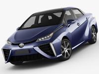 toyota mirai 2015 3d model