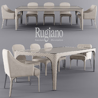 3d table alexander viviane model