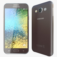 realistic samsung galaxy e5 3d model