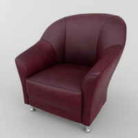 chair antares 01 3d 3ds