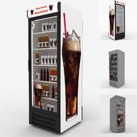 drink cooler 3d max