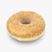 3dsmax donut sugar