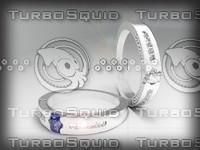 3d model gem ring