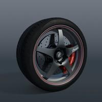 3d wheel american racing