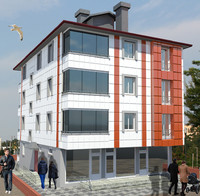 1-storey building