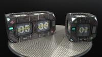 sci-fi asset ready 3d model