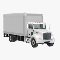 Peterbilt 330 Box Truck