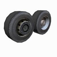 3d truck wheels