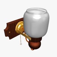 3d wall lamp model