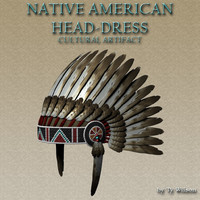 native american indian 3d model