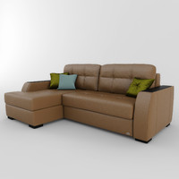 sofa boston 01 3d max