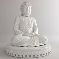 3d buddha statut model