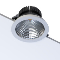 free 3ds model led recessed dani