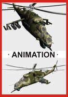 military helicopter mi-24v max