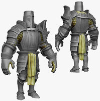 sculpt knight k2 series 3d model