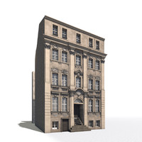 3d residential house berlin model