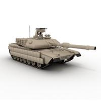 3d m1a2 abrams model