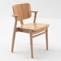 domus chair artek 3d fbx