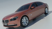 3ds max bmw 2015 7-series
