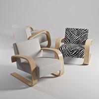 3d armchair 400