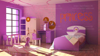 girls room interior max