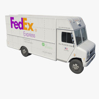 Delivery Van Fedex