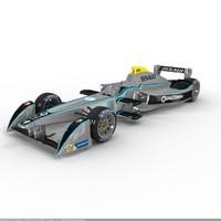 formula e renault srt 3d model