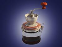 3d model coffee