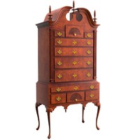 3d model chippendale queen anne
