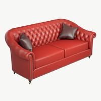 3d model chester sofa