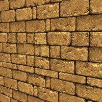 Sandy Brick Wall Texture