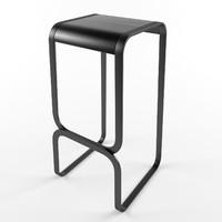 bar chair lapalma - 3d model