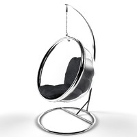 3d model modern bubble chair