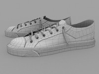 sneakers shoes 3d 3ds