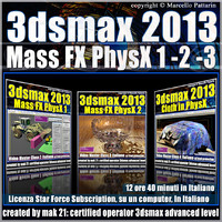 3dsmax 2013 Mass Fx PhysX v.1 -2 -3 Italiano_Subscription