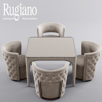 obj table chair rugiano